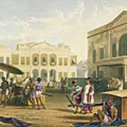 Scene In Bombay, From Volume I Art Print
