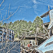 Scenes From An Abandoned Factory In South Dakota 2 Art Print