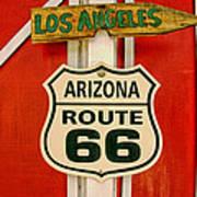 Scenes On Route 66 Art Print