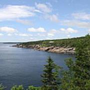 Scenic Acadia Park View Art Print