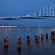 Scenic Bay Bridge Art Print