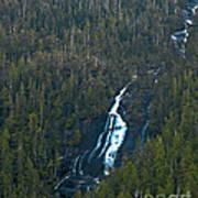 Scenic Waterfall Art Print