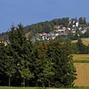 Schauenstein - A Typical Upper-franconian Town Art Print