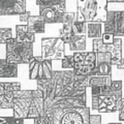 Schizo Art Print