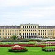 Schonbrunn Palace In Vienna Austria Art Print