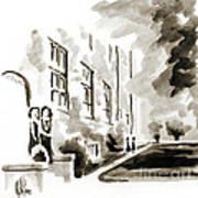 School Days At Ursuline II Art Print by Kip DeVore