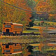 School Days Of Autumn Art Print