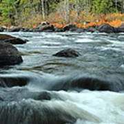 schroon Rapids in Autumn Art Print