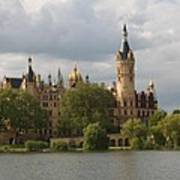 Schwerin Palace - Germany Art Print