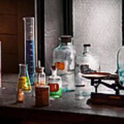 Science - Chemist - Chemistry Equipment  Print by Mike Savad