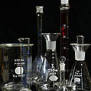 Science Lab Chemistry Art Print