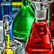Science - Lab Glass Art Print