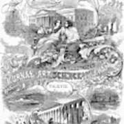 Scientific American, 1867 Art Print
