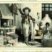 Scientist Art Print