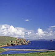 Scotland Shetland Islands Eshaness Cliffs Art Print