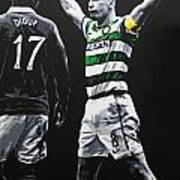 Scott Brown - Celtic Fc Art Print