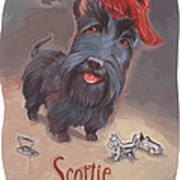 Scottie's Beaming Art Print by Shawn Shea