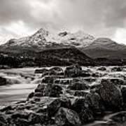 Scottish Skies Art Print