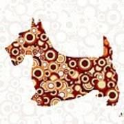 Scottish Terrier - Animal Art Art Print