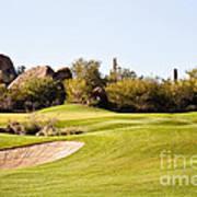 Scottsdale Golf Art Print