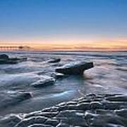 Scripps Pierr Low Tide Art Print
