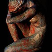 Sculpture Of Nude Woman Art Print