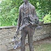 Sculpture Vincent Van Gogh - St Remy Art Print