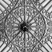 Sculptured Ceiling 1b Art Print