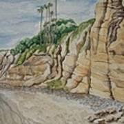 Sd Cliffs Art Print