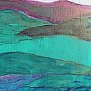 Sea And Land Art Print