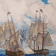 Sea Battle-war Of 1812 Art Print