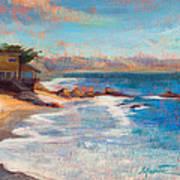 Sea Breeze Art Print by Athena  Mantle