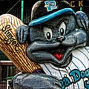Sea Dogs Mascot Art Print
