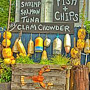 Sea Food Art Print