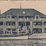 Sea Isle City Yacht Club  Art Print
