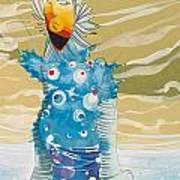 Sea Man Art Print