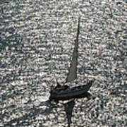Sea Near Monaco Art Print