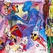 Sea Of Hate Art Print