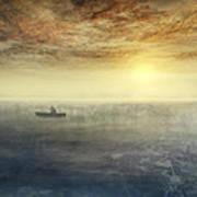 Sea Of Music Art Print by Akos Kozari