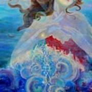Sea Of The Soul Figure Detail Art Print