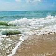 Seashore At Vero Beach Art Print