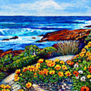 Sea Side Spring Art Print by Michael Durst
