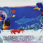 Sea Survival No Spills Art Print