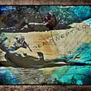 Sea Swept Love Art Print