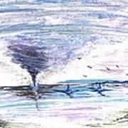 Sea Twister Art Print
