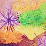 Sea Urchins - Abstract Art Print