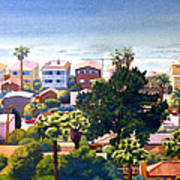 Sea View Del Mar Art Print by Mary Helmreich