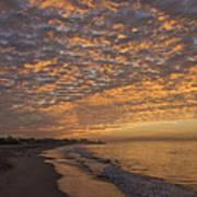 Seabright Sunrise Art Print
