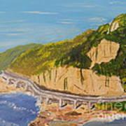 Seacliff Bridge Art Print