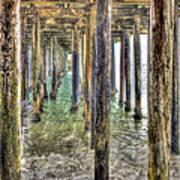 Seacliff Pier 2 Art Print